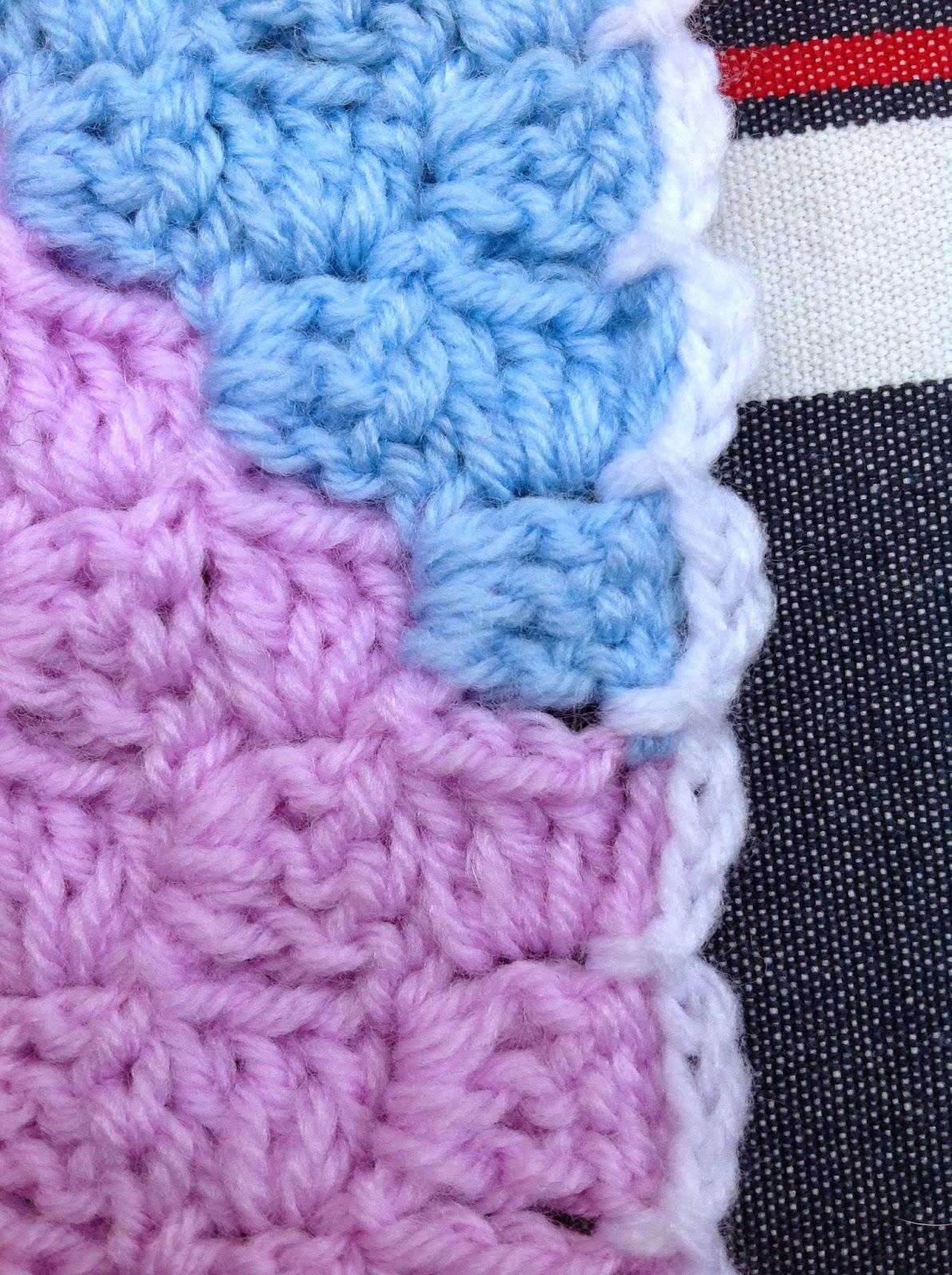 OYAs WORLD- Crochet-Knitting: Crochet: BOX STITCH - Diagonal or Straight.