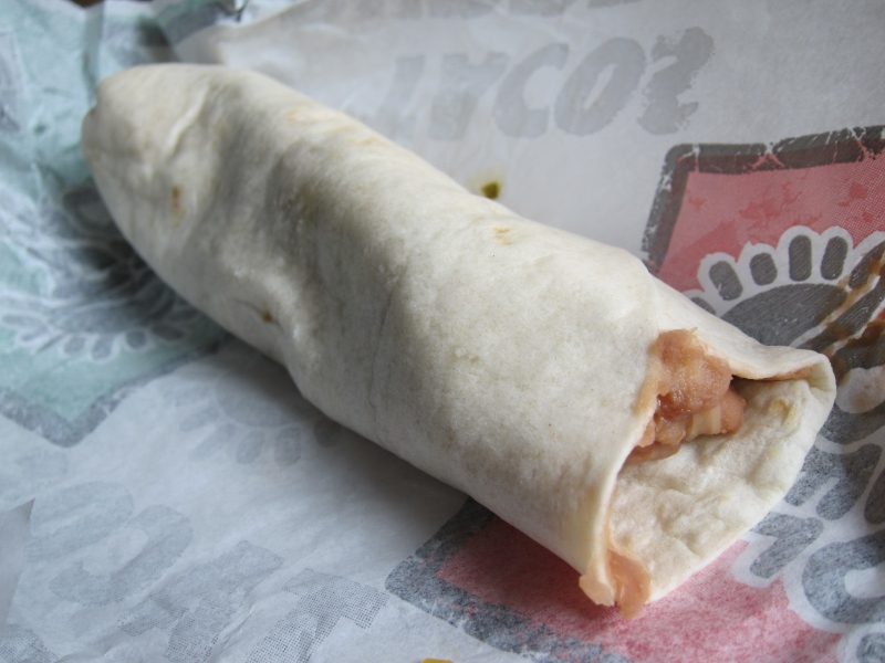 Bean And Cheese Burrito Del Taco Del Taco s Jacked Up Value