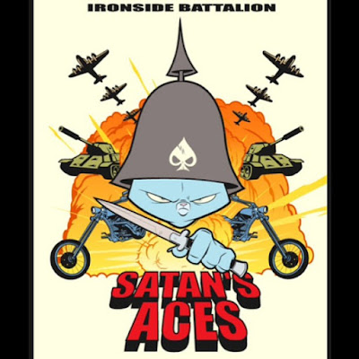"""Ironside Battalion"" Satan's Aces Print by Sam Fout"