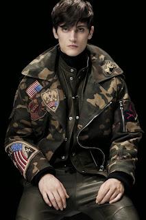 Olivier Rousteing, Balmain, Paris Fashion Week, menswear, animal print, Fall Winter, otoño invierno, 2014,