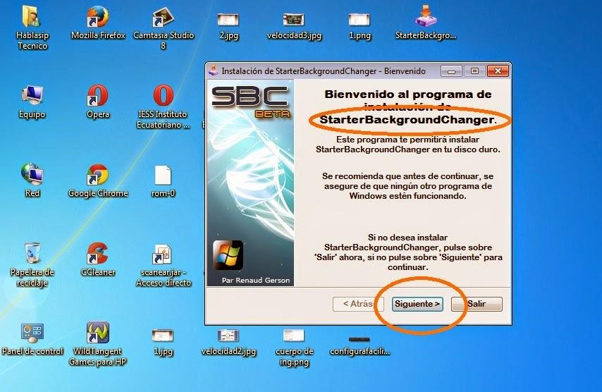 Configura facilito cambiar fondo a windows 7 starter - Como cambiar fondo de escritorio windows 7 starter ...