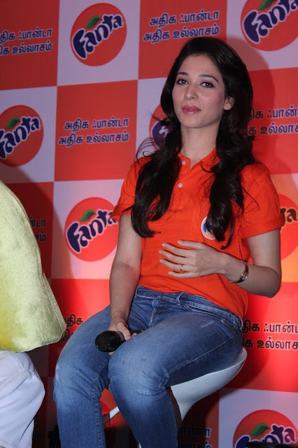 Tamanna at Winner of the Fanta Consumer Promotion Meet Cute Photos