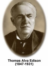 Scientist Thomas Alva Edison