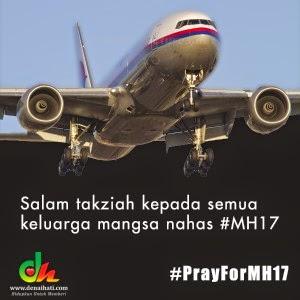 Hari Berkabung Untuk Malaysia                     #Tragedi MH17