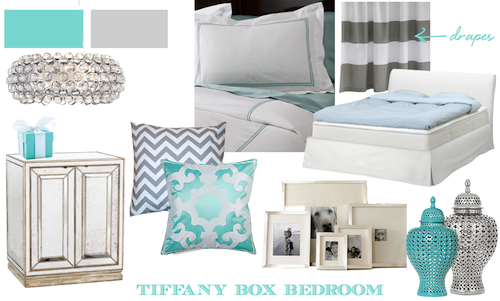 Luxe Lillies A TIFFANY BOX BEDROOM
