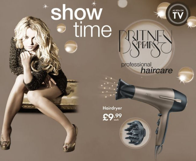 Britney Spears Professional Haircare at Lidl