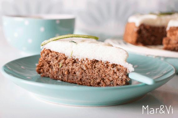 receta casera de tarta de calabacín y lima
