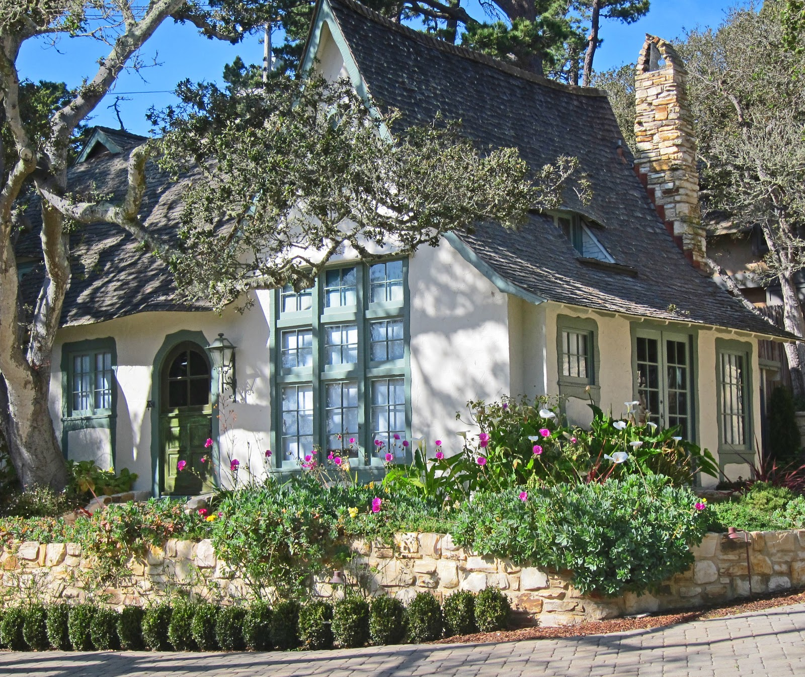 Fairy Tale Cottages Of Hugh Comstock Obers Now Known As