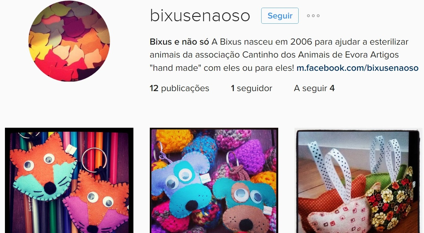 Sigam-nos no Instagram!