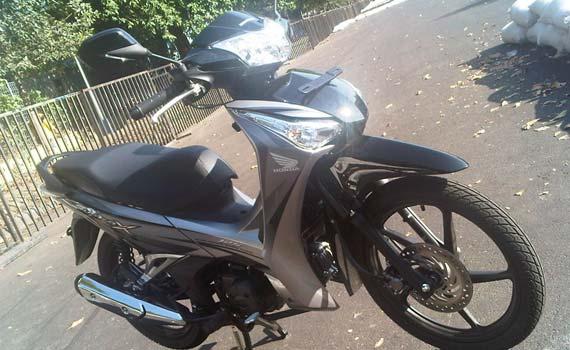 Honda Supra X 125 Helm In Meluncur