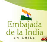 Embajasa de la India en Chile