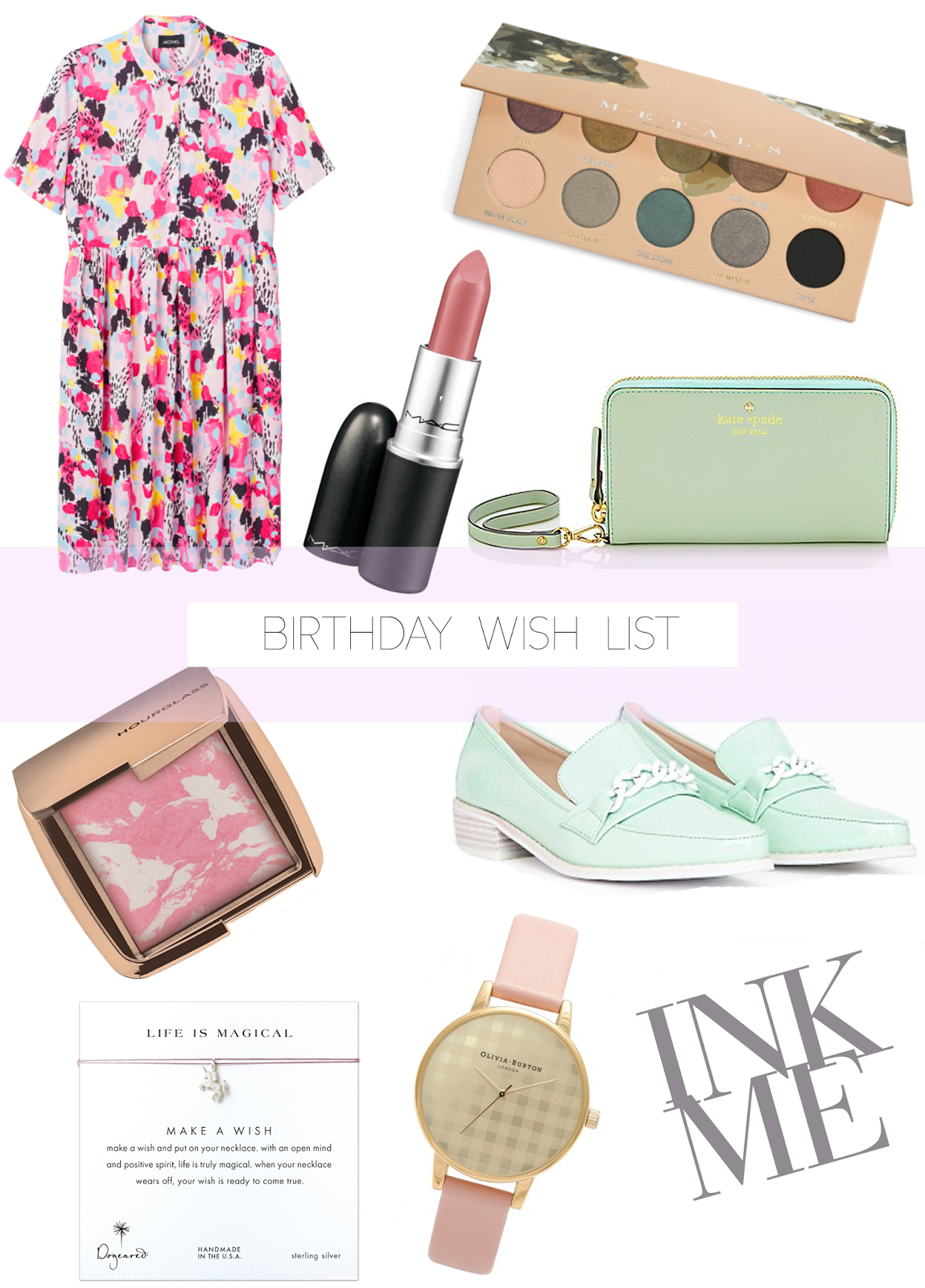 Birthday Wish List April