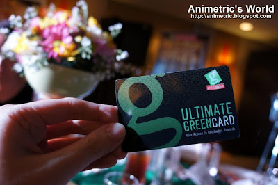 Greenwich Ultimate Greencard
