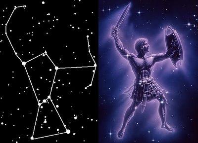 Image result for constelacion de orion imagen