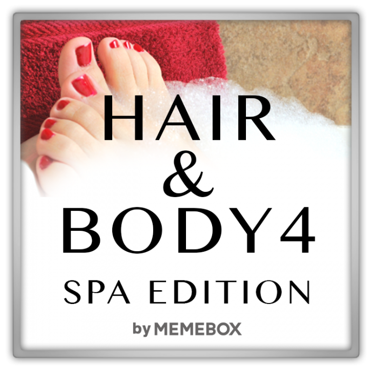 Memebox Special #49 Hair & Body 4 Spa Edition 미미박스 Commercial