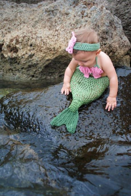 Cute Little Mermaid