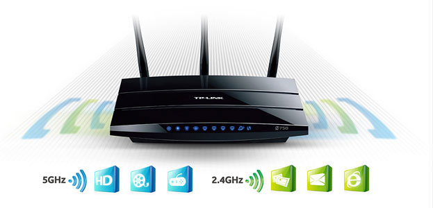 TP LINK TL-WDR4300, 5GHz 450 Mbps + 2,4GHz 300 Mbps - Concurrent Dual Band Wireless