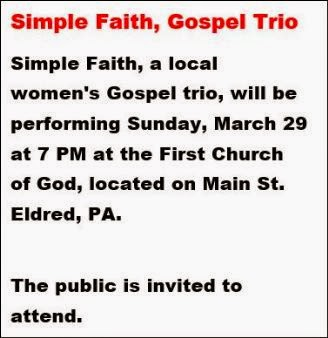 3-29 Simple Faith Gospel Trio