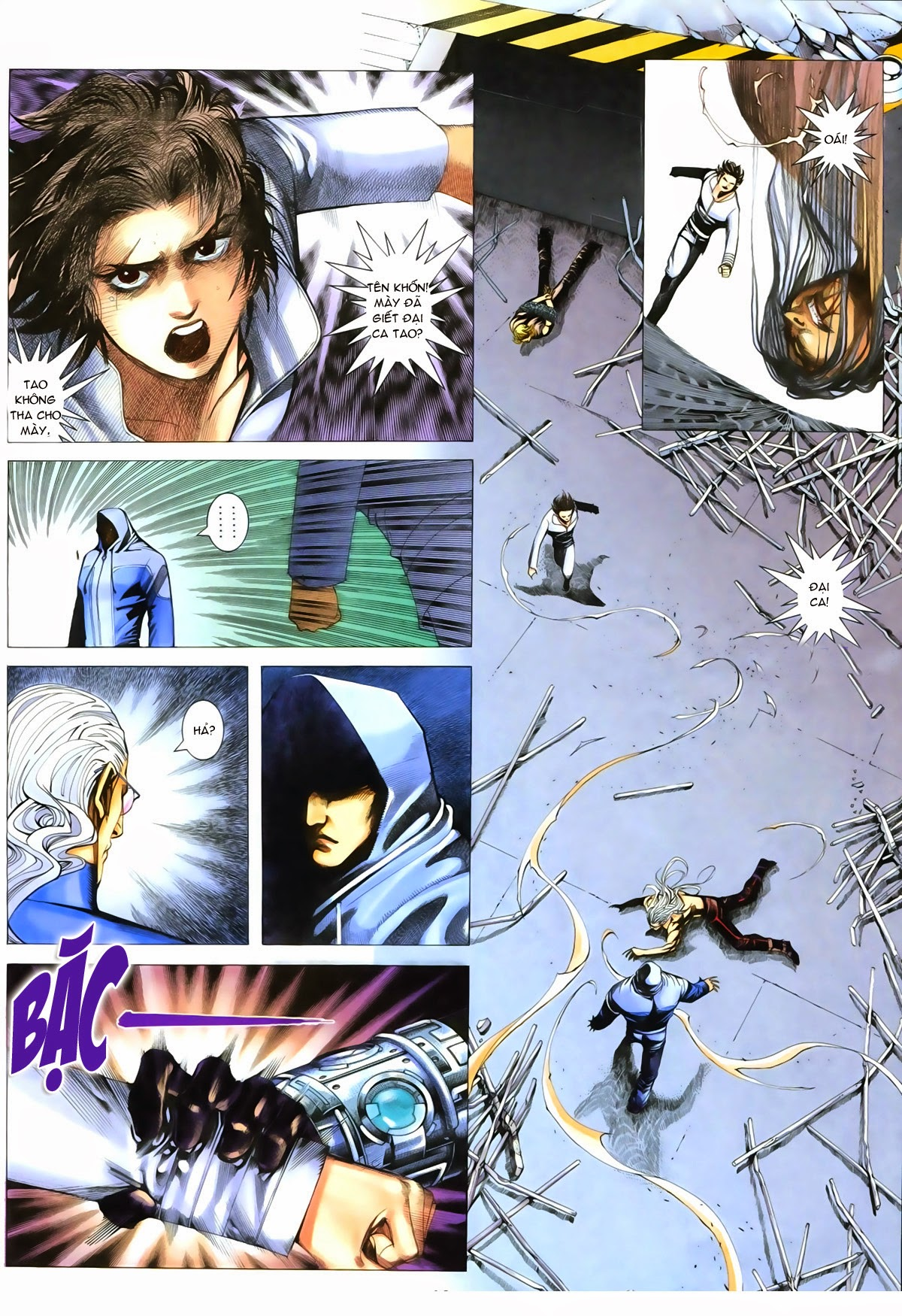 Tuyệt Địa Thiên Hành chap 8 Trang 12 - Mangak.info