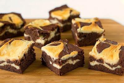 Resep kue brownies panggang coklat keju