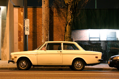 1969 Volvo 142S.