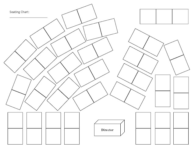 Sample Chart Templates » Orchestra Seating Chart Template - Free