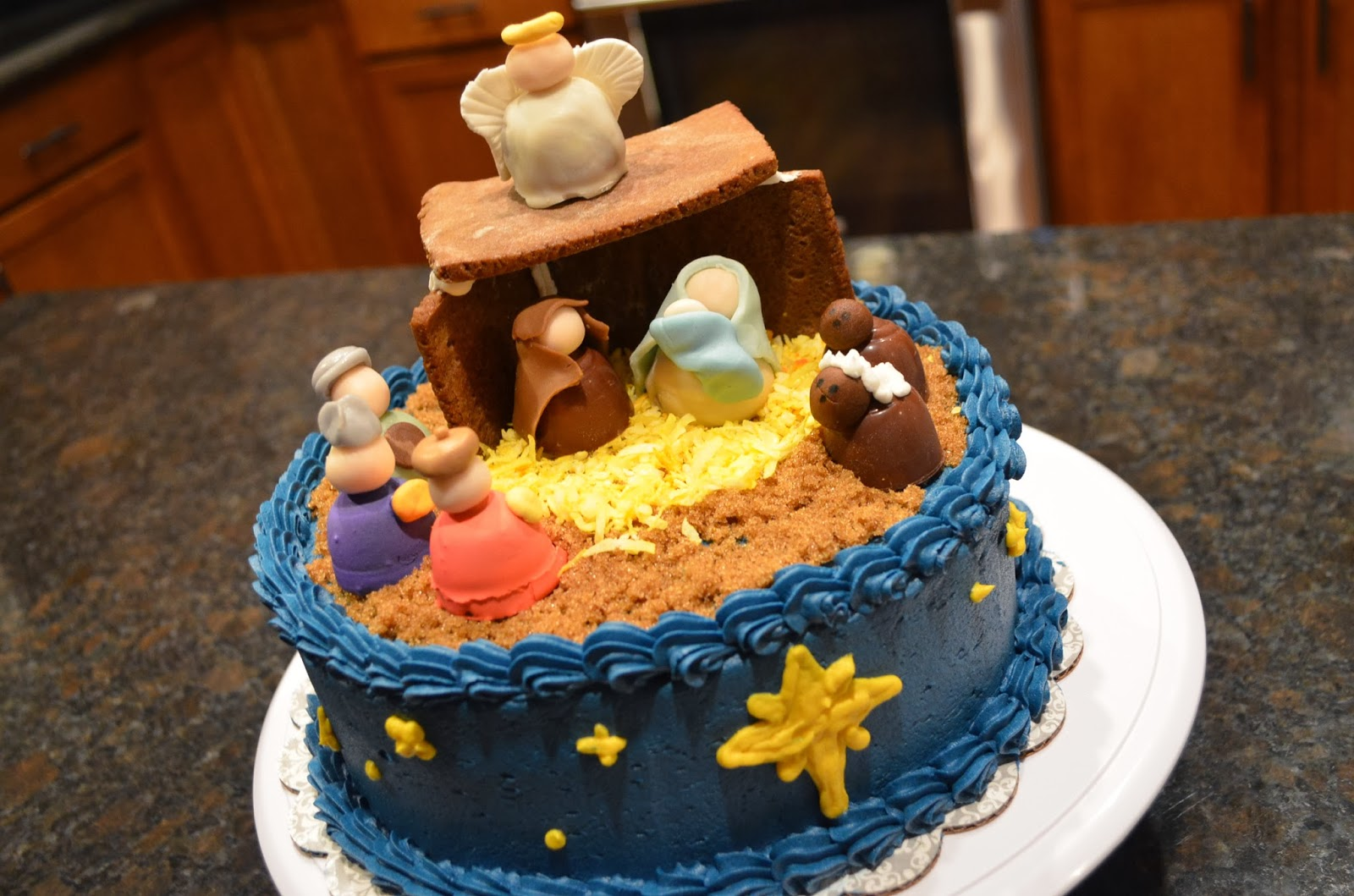 Happy Birthday Baby Jesus Cake Ideas
