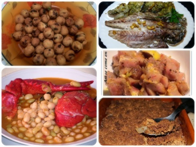 Menú con Cinco Recetas nº 10