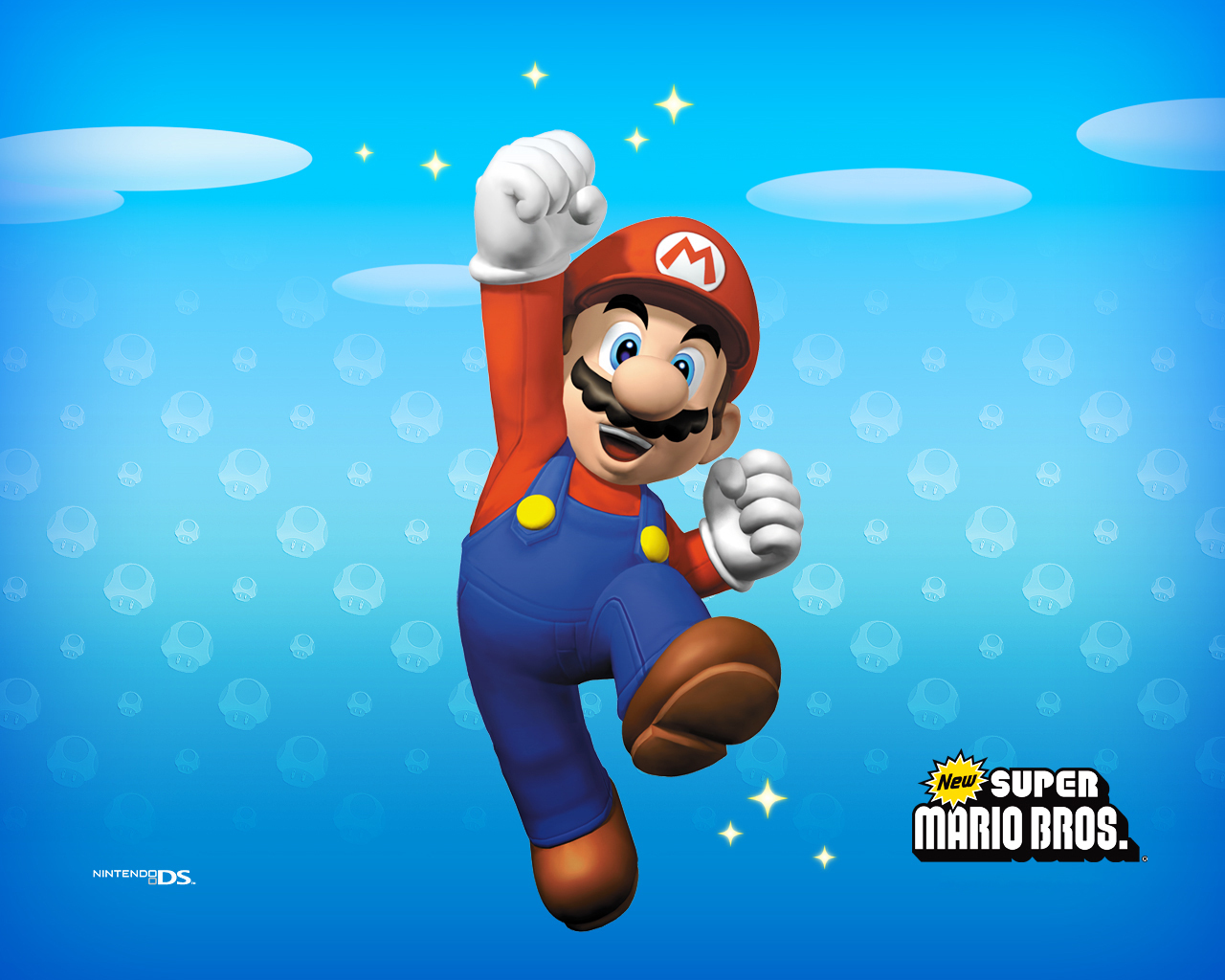 Super Mario HD & Widescreen Wallpaper 0.982542953234433