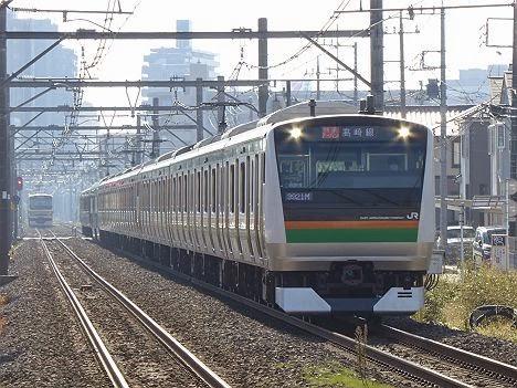 高崎線 快速アーバンE233系