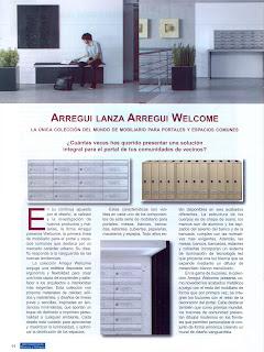 articulo Arregui Welcome