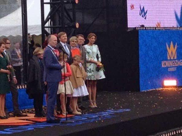 Dutch Royal Family Celebrates King's Day In Dordrecht