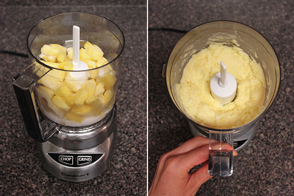 How to make Dole Whip in a mini Cuisinart