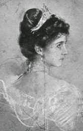 Princesse Ludwig de Saxe-Cobourg et Gotha, née princesse Mathilde de Bavière1877-1906