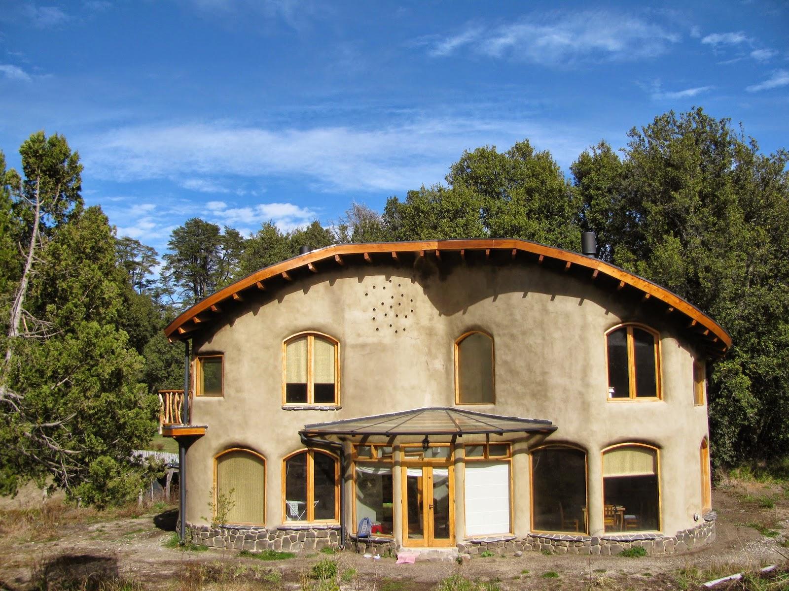 Barro y ganas casa de barro en villa la angostura - Casas en tavernes de la valldigna ...