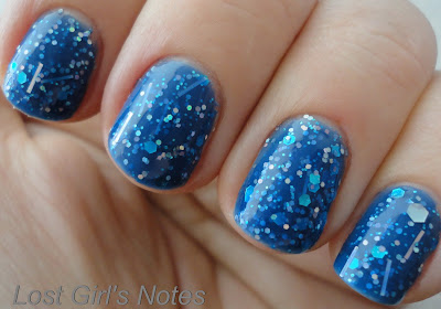 windestine spica nail polish swatches and review