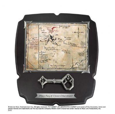 Llave con Mapa Erebor El Hobbit Deluxe