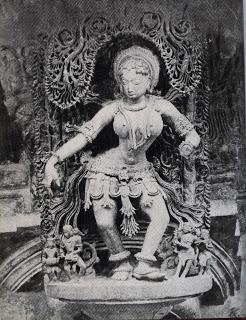 Belur Temple Statue