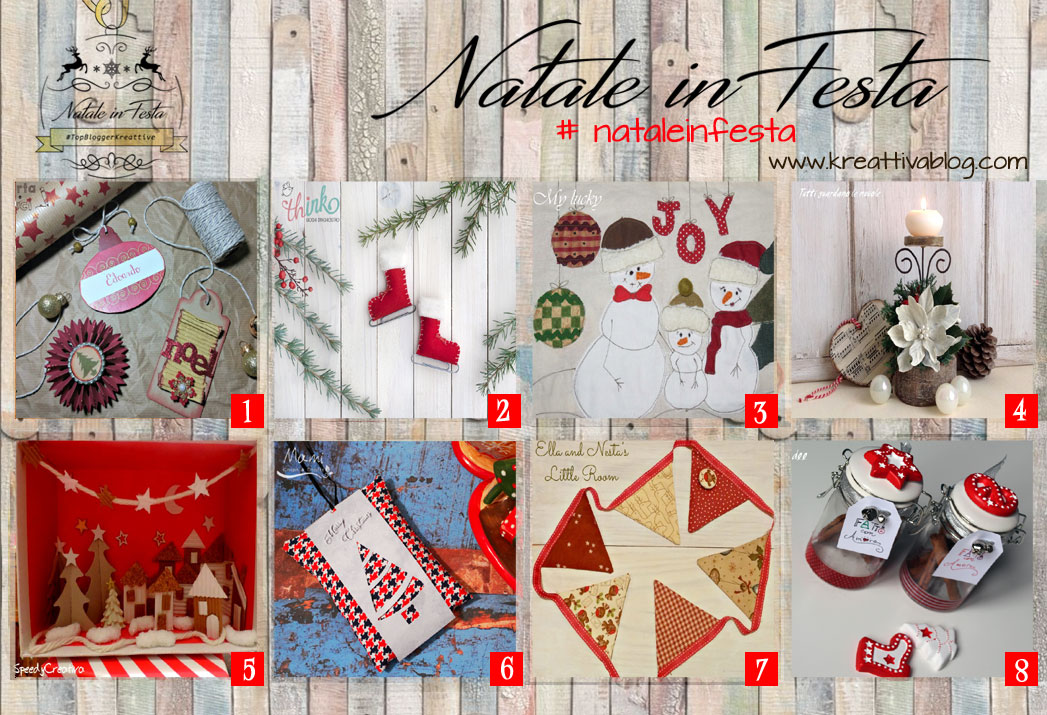 Natale In Festa Con Le Topbloggerkreattive Kreattivablog