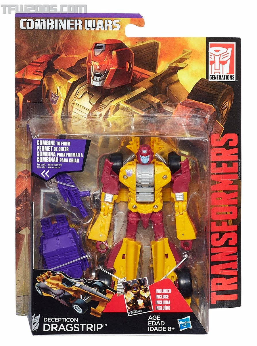 Hasbro - Transformers - The Combiner Wars - Stunticons - Dragstrip