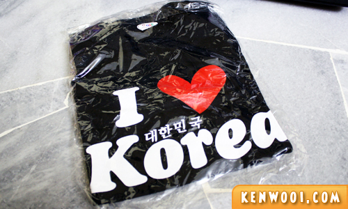 korea souvenir i love korea