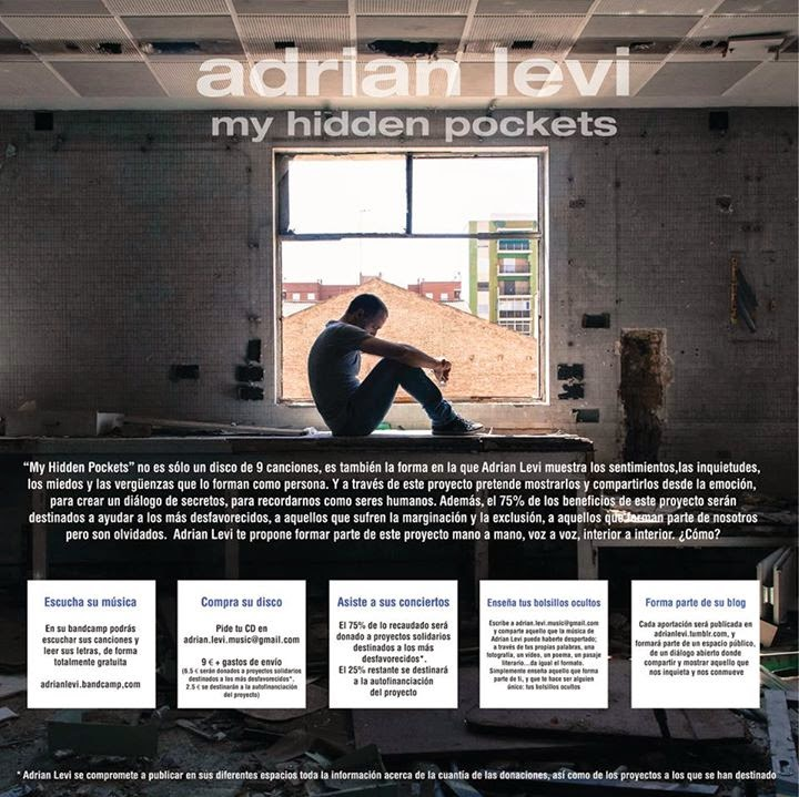 ADRIAN LEVI enseñó sus bolsillos ocultos