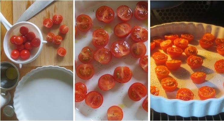 Zubereitung confierte Tomaten