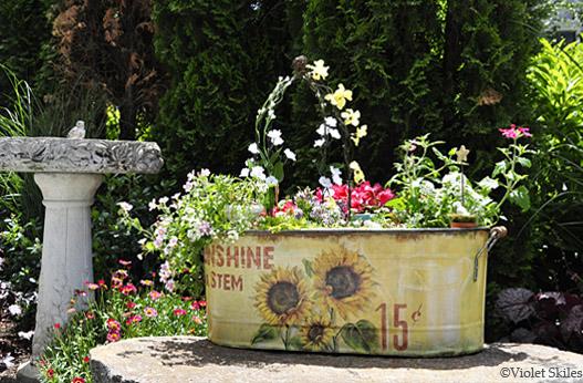 Create beauty fairy garden pathway - How to make a fairy garden container ...