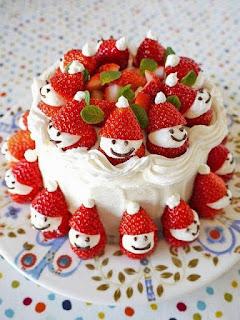 decoración,navidad,frutillas,chantilli,mesa navideña,gourmet