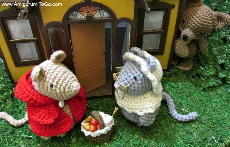 Little Red Riding Mouse Free Patterns ~ Amigurumi To Go