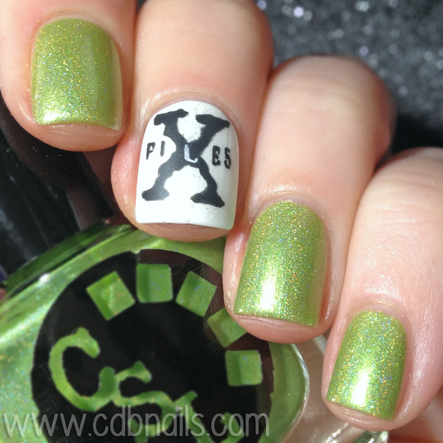 Cinema Swatch Lacquers-Little Green Men