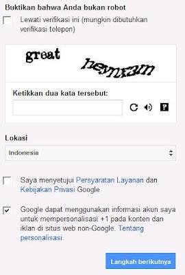 Cara Membuat Email Baru @Gmail.com Di Google