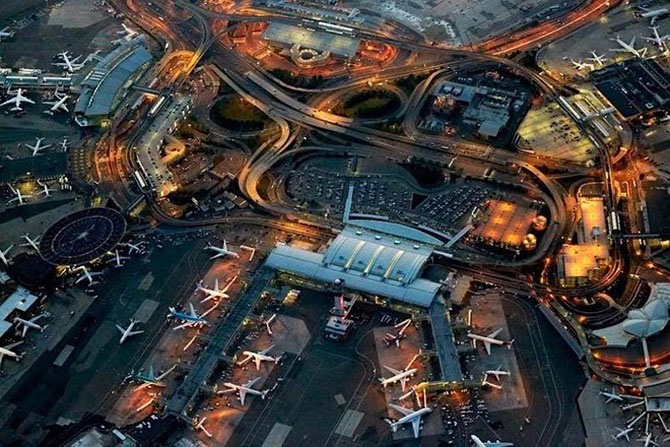 Flying Over Airports