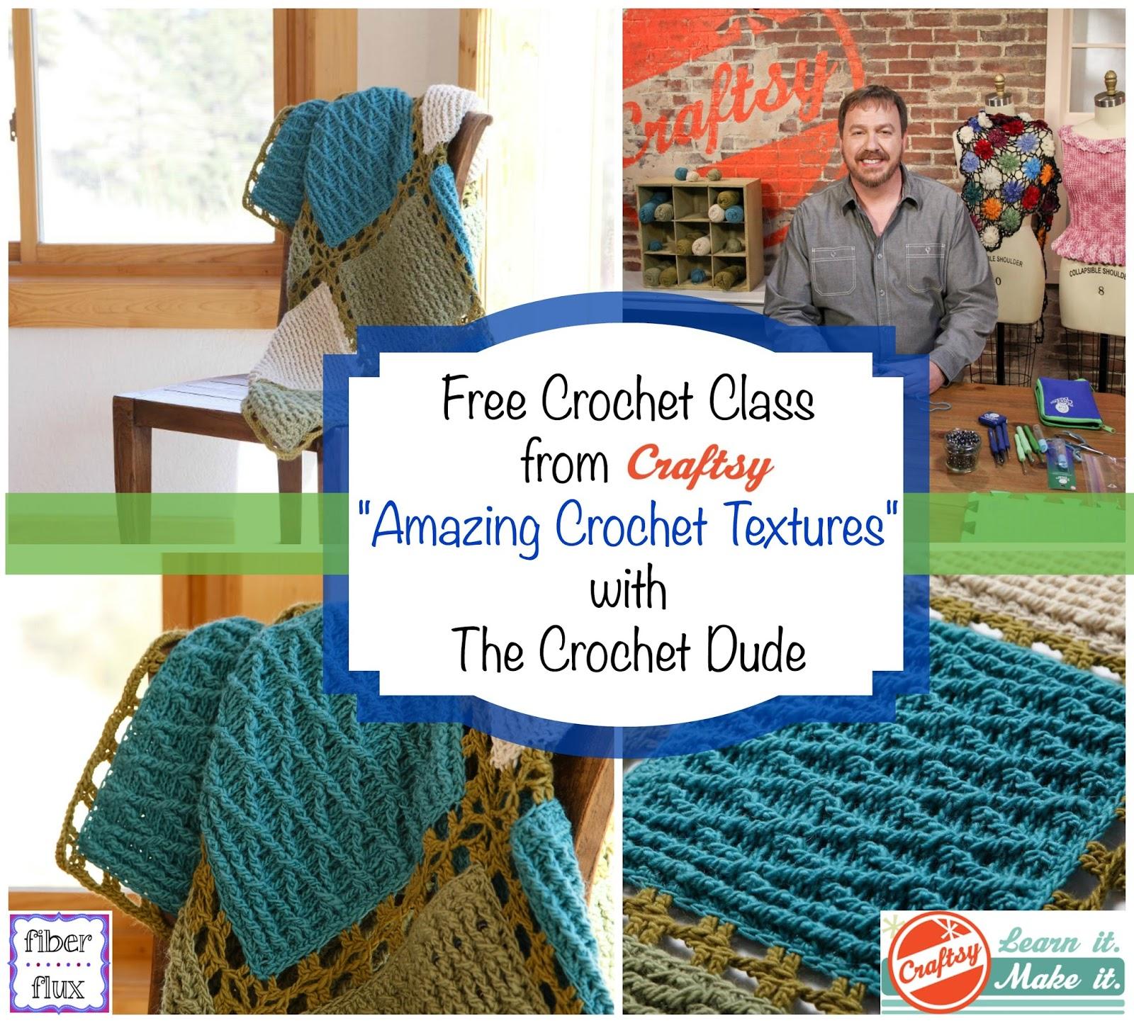 Fiber Flux: Free Crochet Class from Craftsy...Amazing Crochet ...